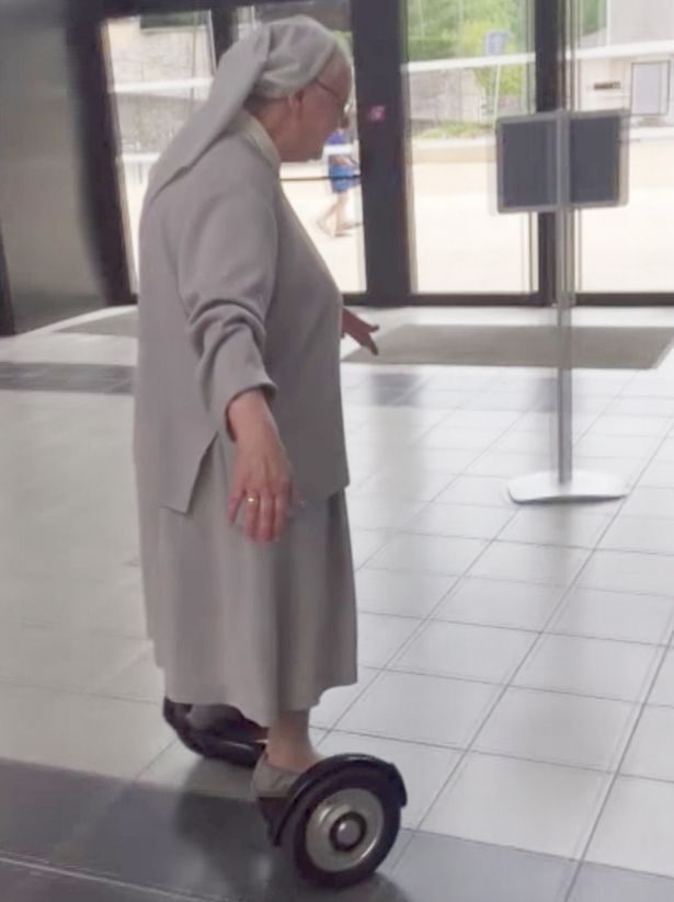 Nun-goes-to-vote-on-hoverboard1